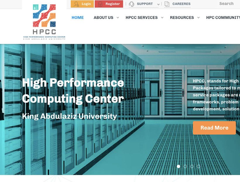 Hig Performance Computing Center provides (HPCC)